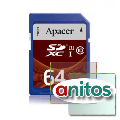 Apacer SDXC 64GB (Class 10) SD 3.0 UHS-1