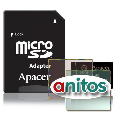 Apacer microSD 16GB High-Capacity (Class 10) UHS-1