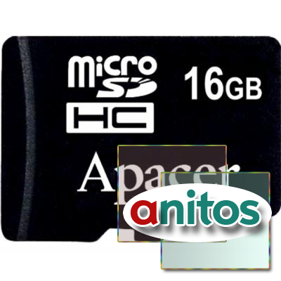 Apacer microSD 16GB High-Capacity (Class 10) w/o Adapter