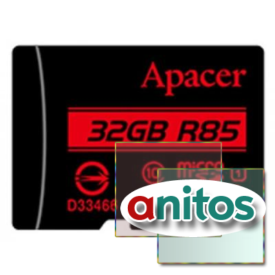 Apacer microSD 32GB High-Capacity (Class 10) UHS-1 w/o Adapter