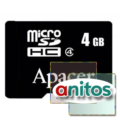 Apacer microSD 4GB High-Capacity (Class 4) w/o Adapter