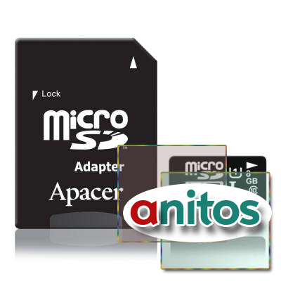 Apacer microSD 8GB High-Capacity (Class 10) UHS-1