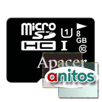 Apacer microSD 8GB High-Capacity (Class 10) UHS-1 w/o Adapter