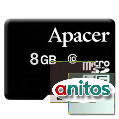 Apacer microSD 8GB High-Capacity (Class 10) w/o Adapter