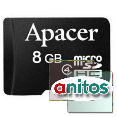 Apacer microSD 8GB High-Capacity (Class 4) w/o Adapter