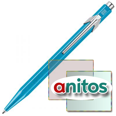 CARANDACHE OFFICE 849 POP LINE - TURQUOISE , ШАРИКОВАЯ РУЧКА, M