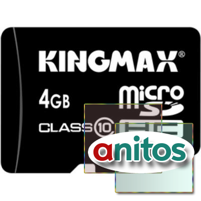 Kingmax microSD 4GB High-Capacity (Class 10) w/o Adapter