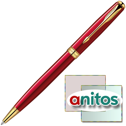 PARKER SONNET - ESSENTIAL RED GT, ШАРИКОВАЯ РУЧКА, M, BL