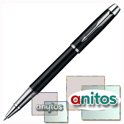 Parker IM Premium - Matt Black CT, ручка-роллер, F, BL