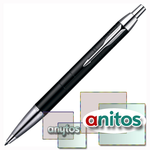 Parker IM Premium - Matt Black CT, шариковая ручка, M