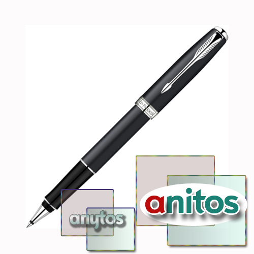 Parker Sonnet - ESSENTIAL Matte Black CT, ручка-роллер, F, BL