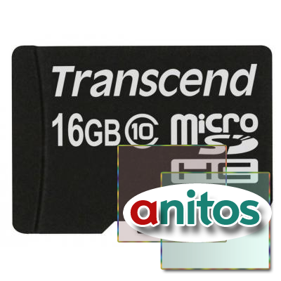 Transcend microSD 16GB High-Capacity (Class 10) w/o Adapters