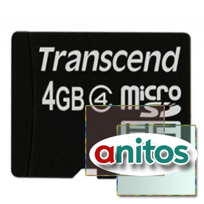 Transcend microSD 4GB High-Capacity (Class 4) w/o Adapters