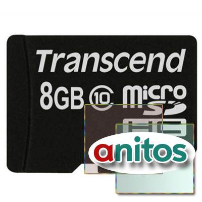 Transcend microSD 8GB High-Capacity (Class 10) w/o Adapters