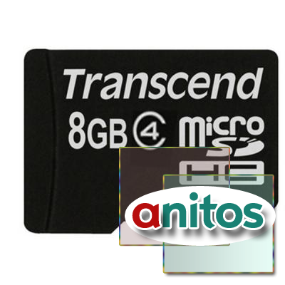 Transcend microSD 8GB High-Capacity (Class 4) w/o Adapters