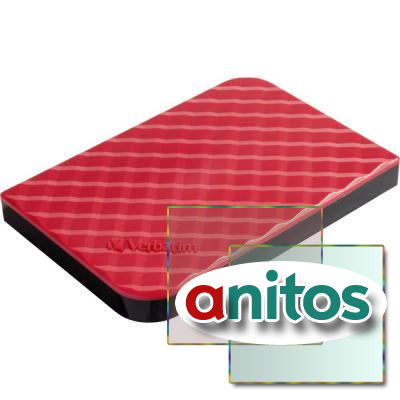 Verbatim 2.5 HDD 1 TB USB 3.0 Store'n'Go Red New