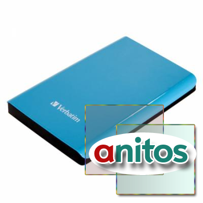 Verbatim 2.5 HDD 500 GB USB 3.0 Store'n'Go Blue