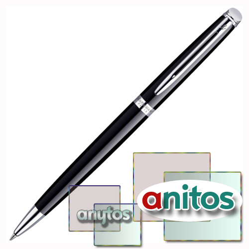 Waterman Hemisphere - Mars Black CT, шариковая ручка, M