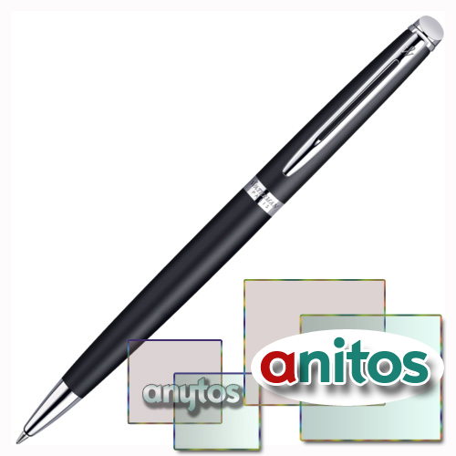 Waterman Hemisphere - Matt Black CT, шариковая ручка, M