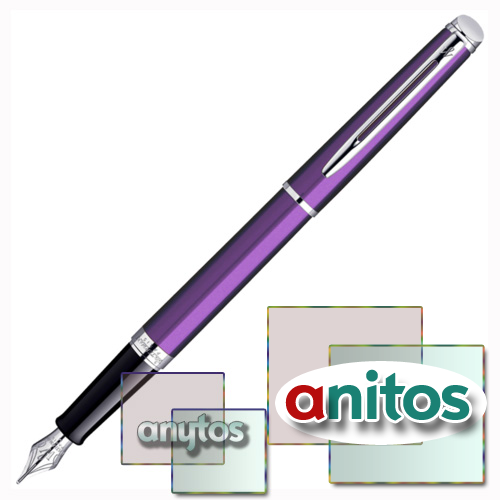 Waterman Hemisphere - Purple CT, перьевая ручка, F
