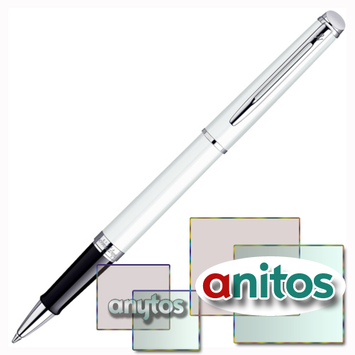 Waterman Hemisphere - White CT, ручка-роллер, F, BL