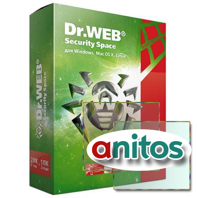 Программное обеспечение Dr.Web Security Space Pro(2ПК/1г) BHW-B-12M-2-A3