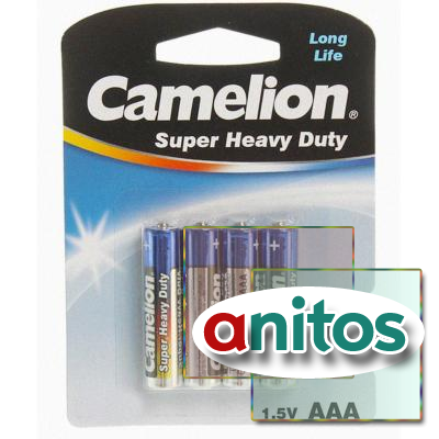батарейка Camelion R03/4BL  Super Heavy Duty