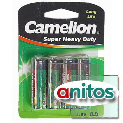 батарейка Camelion R6/4BL  Super Heavy Duty
