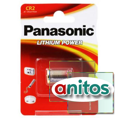 Батарейка PANASONIC CR2/1BL Lithium Power
