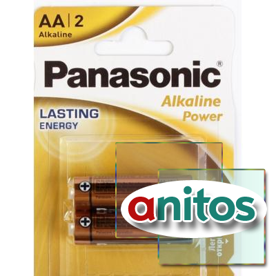 батарейка PANASONIC LR6/2BL Alkaline Power