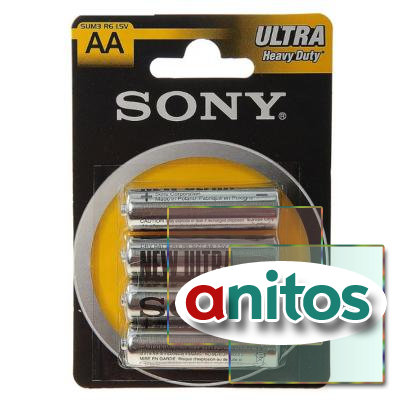 Батарейка SONY R6/4BL New Ultra