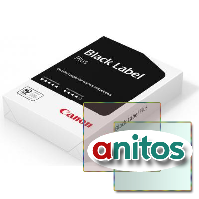 Бумага для ОфТех CANON Black Label Plus (А4,80г,161CIE%) пачка 500л.