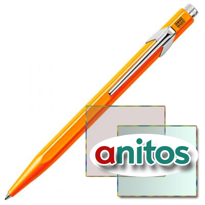 Carandache Office 849 Pop Line - Orange, шариковая ручка, M, шт