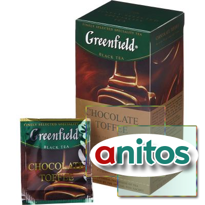 Чай черный Greenfield Chocolate toffee 1,5г*25пак