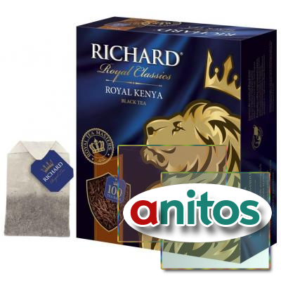 Чай Richard Royal Kenya черный, 100 пак
