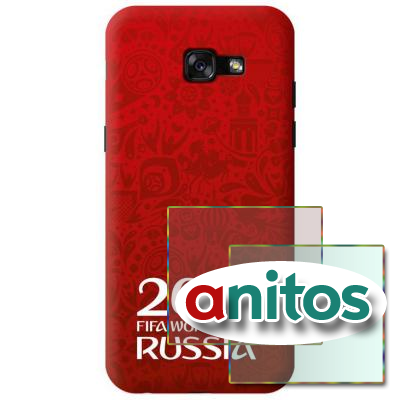 Чехол DEP FIFA чех Sam A520 Logotype red TPU(DEP-103989)