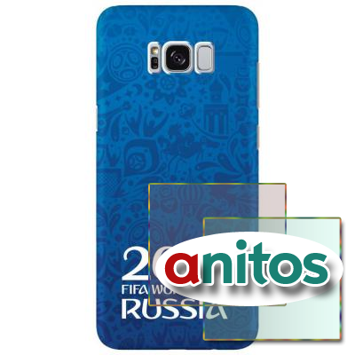 Чехол DEP FIFA чех Sam G955 Logotype blue TPU(DEP-104108)