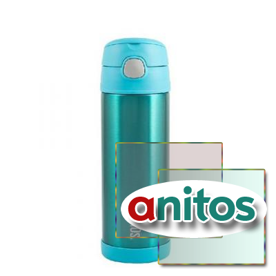 Детский термос Thermos F4023UP Stainless Steel (0,47 литра), мятный
