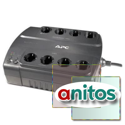 ИБП APC Back-UPS ES 700VA (BE700G-RS)(8 евро/405Вт/USB/RJ45)