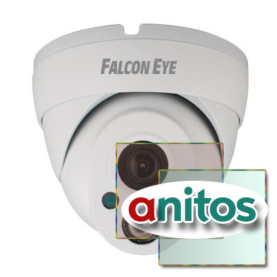 Камера Falcon Eye FE-IPC-DL100P,1Мп,уличная,POE