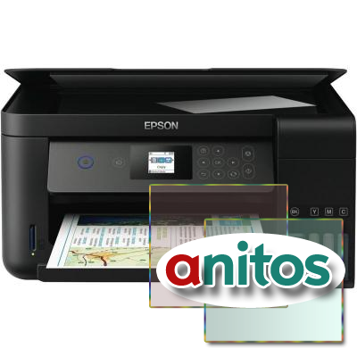 МФУ Epson L4160(C11CG23403) A4 33ppm Wi-Fi 1200x2400 Duplex слот SD