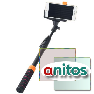 Монопод Perfeo M8 Selfie Stick/ 40-122 cm/ BT 3.0/ Big holder/ Go-Pro adapter/ Black
