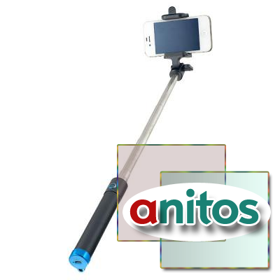 Монопод для селфи Perfeo M7 Selfie Stick/ 19-80 cm/ 3.5 mm audio cable/ Black