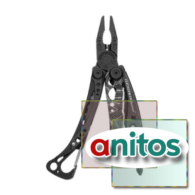 Мультитул Leatherman Skeletool Topo, 7 функций, черный