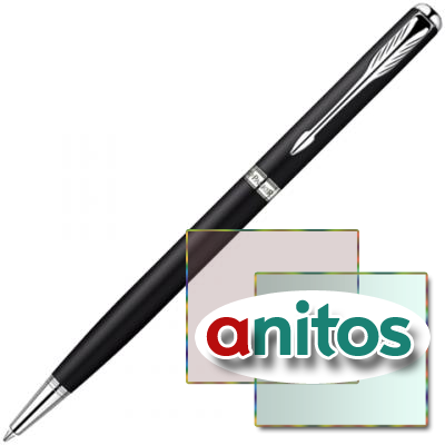 Parker Sonnet - ESSENTIAL Matte Black CT Slim, шариковая ручка, M, BL