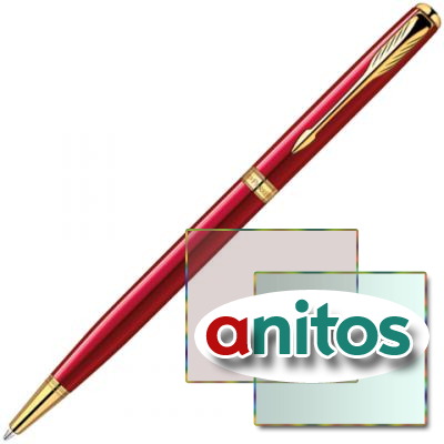 PARKER SONNET - ESSENTIAL RED GT SLIM, ШАРИКОВАЯ РУЧКА, F, BL..