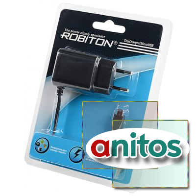 USB адаптер ROBITON TinyCharger/MicroUSB BL1 NEW