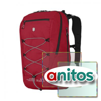 Рюкзак Victorinox Altmont Active L.W. Expandable Backpack, красный, 33x21x49 см, 25 л