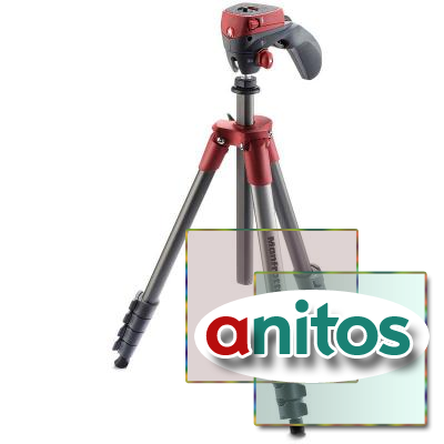 Штатив Manfrotto COMPACT ACTION RED