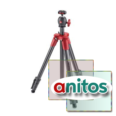 Штатив Manfrotto COMPACT LIGHT RED